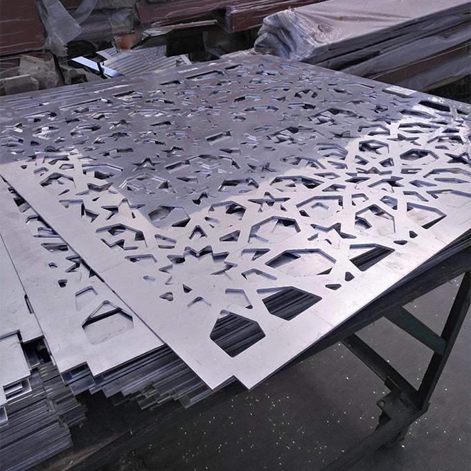 湖北外墙氟碳铝单板生产厂家介绍铝单板幕
